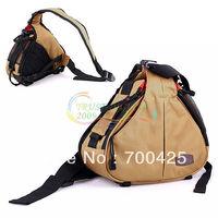 Caden K1 Shoulder DSLR Camera Bag Video Portable diagonal Triangle Carry Khaki Free Shipping