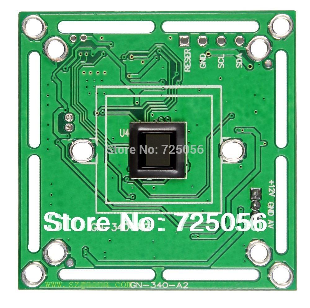 800 tvl cctv-kamera pcb modul w/t Video stromkabel, aptina 139 cmos+8510 dsp, Größe 38*38mm( 32*32mm verfügbar), Unterstützung ir cut
