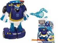 Original Playskool Heroes Rescue Bots Energize Chase the Police-Bot Car Transformation Brand Birthday Gifts Kids Boys Toys