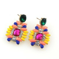 Free shipping! Special design stud earrings, Colorful casual earrings for women, Hot Sales Jewelry