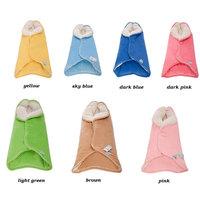 2014 Newborn Supplies Autumn and Winter Baby Blankets Sleeper Thickening Infant Sleeping Bag Envelope For Newborn Soft