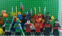 Decool Ninja Toy Cole/Jay/General Cryptor/Kai Super heroes Blocks Night Wing/Shazam/Robin The Flash Action Figures kids toys