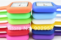 Wholesales 200pcs/lot Square Silicone Nurse Medical Watch Watches With Pin High Quality with 12 colors free express delivery