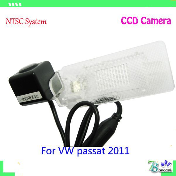 Cheaper rearview camera VW PASSAT 2011 car models waterproof glass CCD rear view camera 170 degree