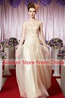 Creative fox 2013 formal dress toast trailing banquet evening dress formal dress paillette 30339
