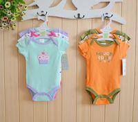summer 2014 baby Sayings Romper similar carters baby girls clothing set -Baby Boy Romper body para bebe 0-3,3-6,6-9,9-12months