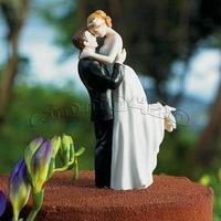 "Hote sale True Romance"" Bridal Couple Wedding Cake Topper"