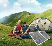 Hot* 100 Watt 18V MONO Folding solar panel  for  12v battery,  car, free shipping