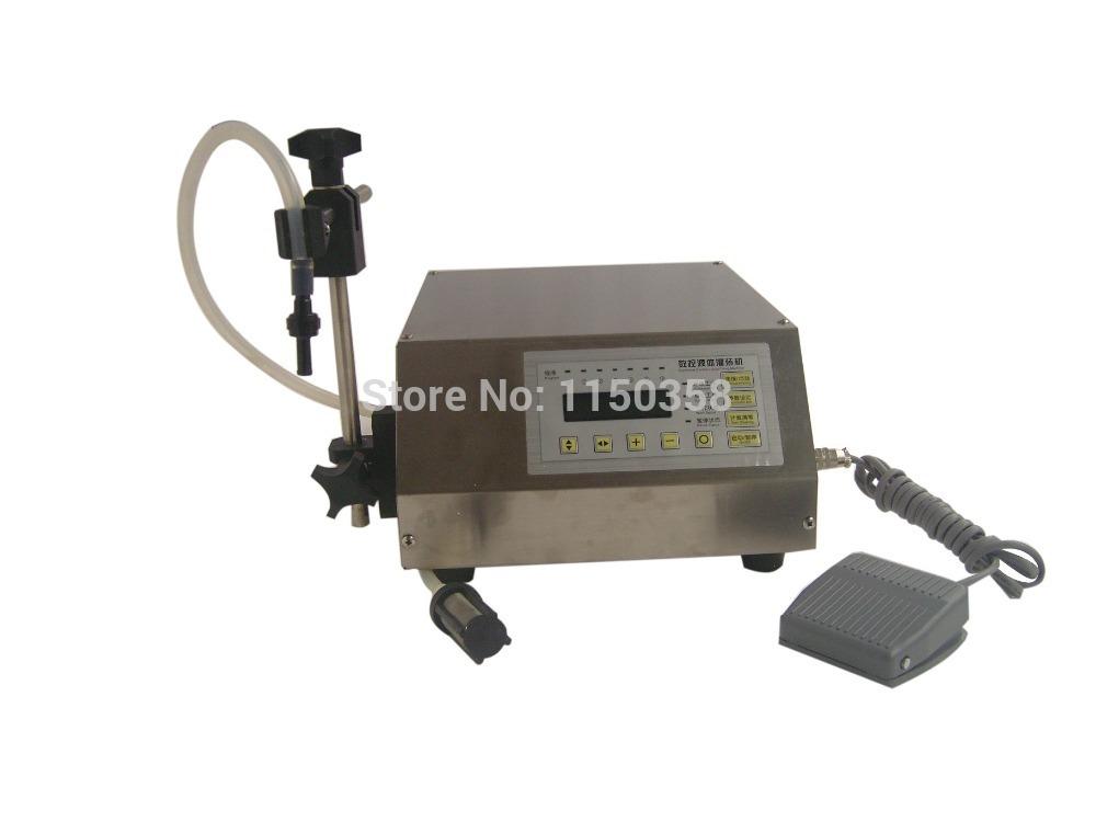 GFK160 water olive oil fuel drinks vinegar milk wine cola solutions beverage Digital filling machine(China (Mainland))