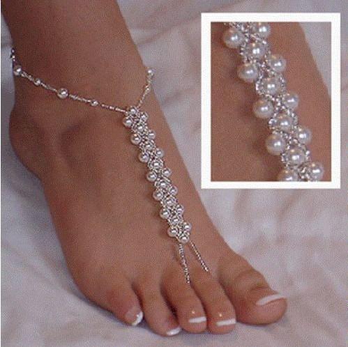 Sandalias descalzas patrones - Imagui