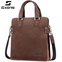 FOTW 2014 New Fashion Vintage Genuine Leather Men Bag Cowhide Man Handbag Business Bags For Men