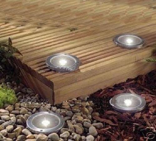 ultimo esterna solare inox sotterraneo 3 mattone a led luce della piattaforma giardino via percorso decorazione luce pannello solare
