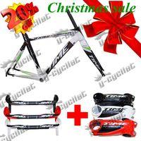 time rxr road bike package sale frames/handlebar/stem/bottlecage bb30 bicycle toray carbon fiber 3k wave oem carbon bike T9