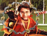 Freeshipping a lot 20PCS Quidditch Bracelet Golden Snitch Bracelet HLPJN02