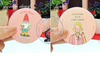 portable pocket tin mirror multi designs cute cartoon girls fashion Compact hand Cosmetic Make Up whcn+