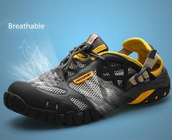2014 Brand Men/Женщины's Summer Sport Breathable Outdoor Shoes Sneakers Waterproof ...