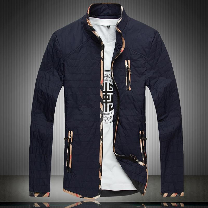 Man Jacket for Autumn Plus Size XL-5XL 6XL 7XL 8XL(chest 55 inch) 2014 New Thin Wadded Coat Fashion thin Padded Men's Clothing(China (Mainland))