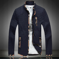 Man Jacket for Autumn Plus Size XL-5XL 6XL 7XL 8XL(chest 55 inch) 2014 New Thin Wadded Coat Fashion thin Padded Men's Clothing