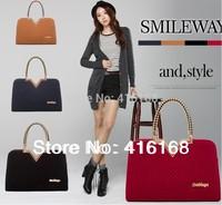 22014 new handbag shoulder bag handbag authentic woolen fabric V-shape bag bride wedding package good quality, free shipping