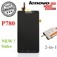 Original 2-in-1 Touch Panel LCD Screen and  Display Digiterzer LCD for Lenovo P780 phone replacement Assembly repair part