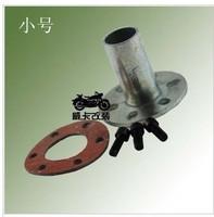 Exhaust pipe weld screws