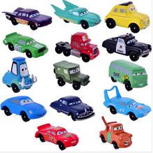 Free Shipping High Quality PVC 14pcs/set Pixar Car Figures Full Set for Gift CRFG003(China (Mainland))