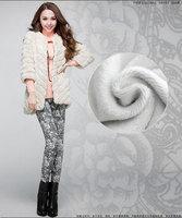 New 2014 Autumn Winter Women Pants Casual Slim Warm Thick Fleece Pencil Pants Plus Size XXXXXL Women Trousers Free Shipping
