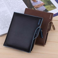 Free Shipping! NEW Multifunctional Short Design Man Wallet Zipper Coin Purse Card Holder Men's Wallet C3153