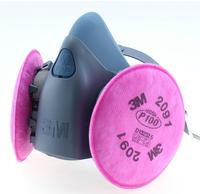 free shipping 3 m7502 industrial welding smoke dust mask 2091 glass fiber dust masks respirators
