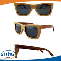 Free shipping Wholesale wood sunglasses Oculos de sol men women sun glass retro vintage absuda wood eyewear wood sunglasses
