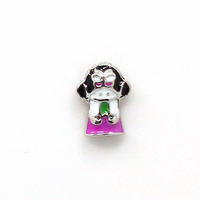 Free Shipping !! (20pcs/lot)Lovely Girl New 2015 Floating Charms For Lockets Charms Love In Stock