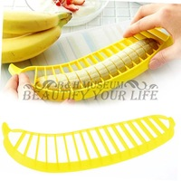 1 pcs Banana Slicer Chopper Cutter for Fruit Salad Sundaes Cereal Kitchen Tools