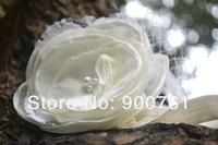 Ivory hair Flowers Headband For Infant Babys Girls Kids Children Kids' Hair Accessories Baby Gift