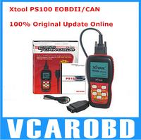 100% original free update via internet X TOOL PS100 CAN OBDII/EOBDII scanner PS 100 yoga YU