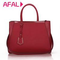 Classic British Luxury Fashion Vintage Genuine Leather Cowhide Women Messenger bag portable one shoulder Women Leather Handbag