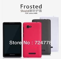 Freeshipping Original Nillkin Case for Lenovo A880 S939 S960 A680 K910 S650 S820 A390 Phone Scrub Shield  Case+ screen protector