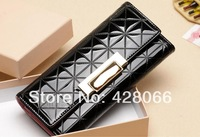 2014 new Women's wallets Discounts long hand bag leather dinner simple  wallet quality goods free shipping