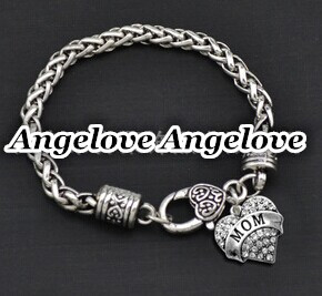 charm MOM bracelet infinity love MOM bracelets love heart bracelet fashion love bracelet jewelry