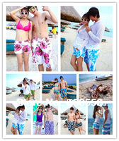 Free shipping 2014 HOT! sales NEW!  fashion lovers beach shorts couple men/women beach style wholesale or retail