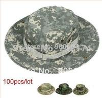 Wholesale 100pcs /lot  New  Quality Cotton Military Hat Hot Sale