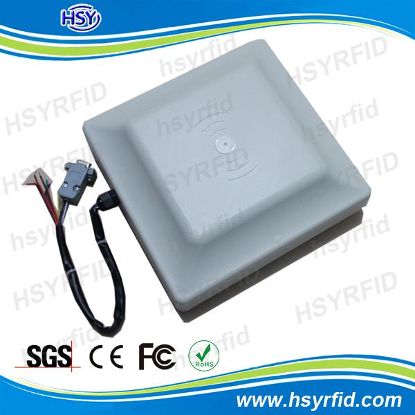 2~5M Read range Long range passive rfid uhf reader Built-in round polarization antenna with RS232/485/wiegand+SDK+5pcs UHF Card(China (Mainland))