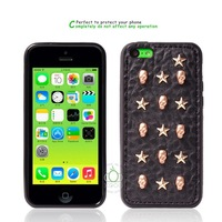 2014 Fashional Protective Skull Case for iphone 5C Phone Shell