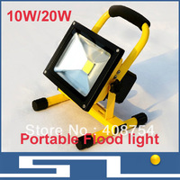 Led charge projectine lamp portable searchlight car emergency light lamp flood light portable light,1pc/lot