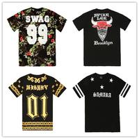 High-quality t shirt men brand famous Heybig Pyrex VISION 23 YEEZY 77 LES(ART)ISTS fashion short t shirt ktz SWAG mens shirt