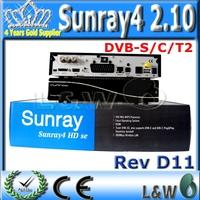 Digital Satellite TV Receiver Sunray4 800hdse sr4  Sunray HD SE SR4 800SE Triple tuner Enigma2 DVB S(S2)/C/T2 300Mbps WIFI