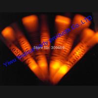 free shipping glow stick light stick printing logo china   led foam stick baton  factory  single color with blue