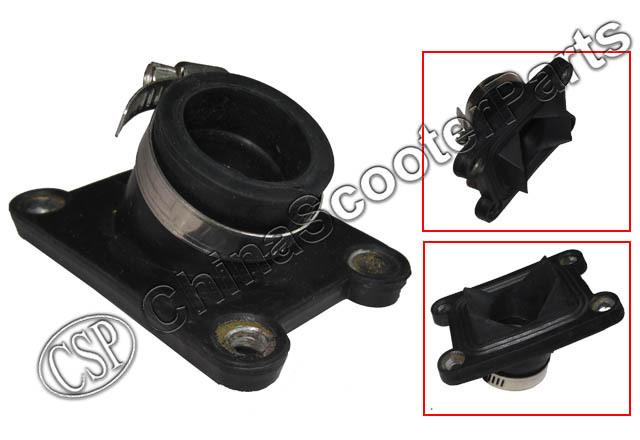 22MM Intake Manifold  Water cooled Mini Moto  KTM 50 50SX 50CC JUNIOR 50CC SX 2001-2008 Pocket  Dirt Pit Bike Parts(China (Mainland))