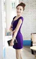 Vestidos Casual Free Shipping Freeshipping Vestido Jersey Dresses Winter Dress 2014 Spring Women's Fashion Slim Basic One-piece