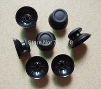 50Pcs/lot Black Thumbsticks Grips plastic Cover 3D Analog Joystick Cap for PS4 game Controller