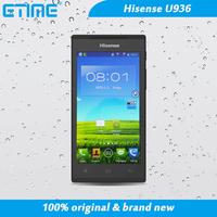 "Hisense U936 Android 4.3  phone 4.5"" IPS screen quad-core 512RAM+4G ROM 5MP WCDMA 3G GPS Russian Spanish"
